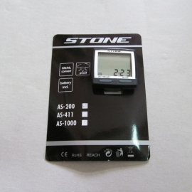 Bike Computer Stone AS-200, negru - BikeCentral